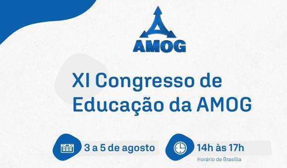XI Congresso de Educação da AMOG